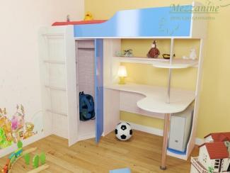 Детская Индиго М с лестницей Юнга - Мебельная фабрика «Мезонин мебель»