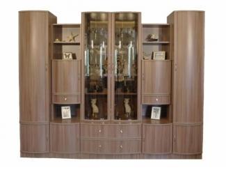 Новая гостиная стенка Композиция 12 - Мебельная фабрика «Веста»