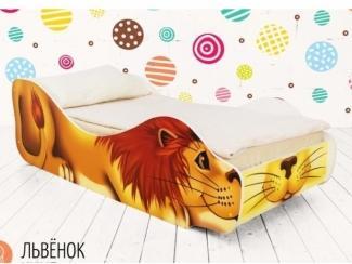 Детская кровать Львёнок Кинг  - Мебельная фабрика «Бельмарко»