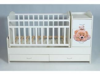 Детская кроватка КТМ Мишки - Мебельная фабрика «Папа Карло»