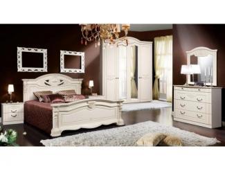 Новая спальня Сорренто  - Мебельная фабрика «Слониммебель»