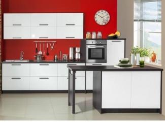Белая расцветка кухни - Мебельная фабрика «Прима-сервис», г. Белгород