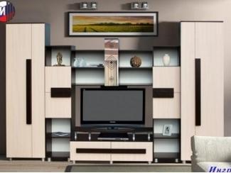 Стенка с необычным дизайном Ингрид 2 - Мебельная фабрика «Грааль», г. Пенза