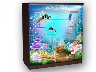 Комод Волжанка рыбки - Мебельная фабрика «Премиум»