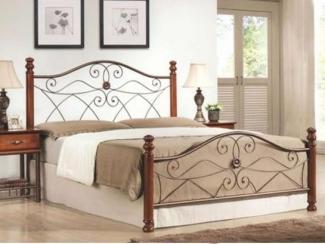 Кровать Коричневый металл