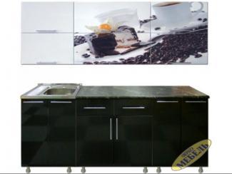 Кухня прямая 37 - Мебельная фабрика «Трио мебель»