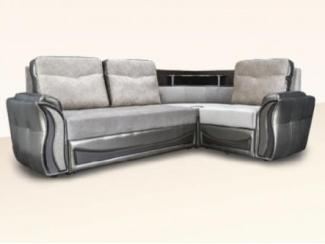 Серый угловой диван Инфинити  - Мебельная фабрика «Димир»