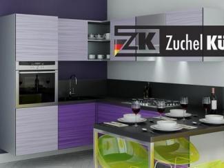 Кухонный гарнитур угловой Билефельд Лаванда - Мебельная фабрика «Zuchel Kuche (Германия-Белоруссия)»