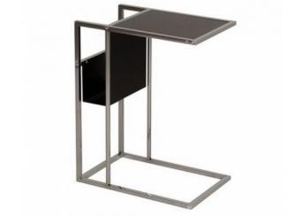 Стол журнальный металлический приставной - Импортёр мебели «МебельТорг»