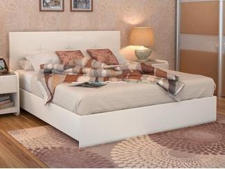 Белая кровать Maya  - Мебельная фабрика «Askona»
