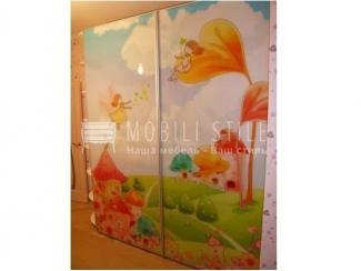 Шкаф с компланарной системой открыванием дверей Bortoluzzi  - Мебельная фабрика «Стильная мебель»