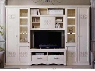Красивая гостиная Саванна  - Мебельная фабрика «ТриЯ»