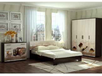 Спальня Милания - рисунок Карта - Мебельная фабрика «БелДревМебель»