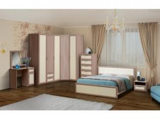 Спальный светлый гарнитур - Мебельная фабрика «Версаль», г. Волжск
