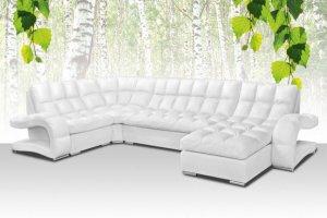 Белый угловой диван Брайтон 1 - Мебельная фабрика «Славянская мебель»