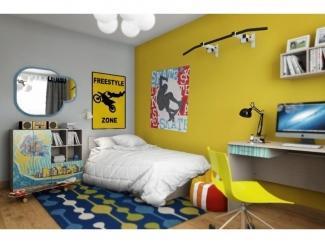 Подростковая комната Юна 2  - Мебельная фабрика «ВасКо»