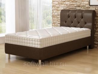 Кровать односпальная Антик BS - Мебельная фабрика «SoftWall», г. Омск