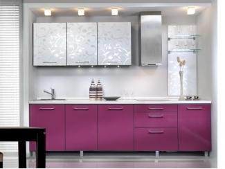 Кухонный гарнитур Ночная фиалка - Мебельная фабрика «Derli»