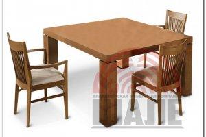 Обеденная группа стол и стул Джеймс - Мебельная фабрика «ВМК-Шале»
