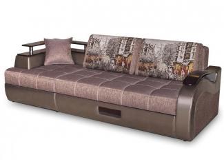Диван прямой Мальта 6 с баром - Мебельная фабрика «Оникс»