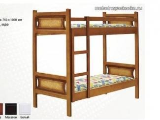 Кровать детская двухъярусная Даша  - Мебельная фабрика «Мебельная Сказка»