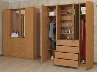 Шкаф распашной 0600-18 - Мебельная фабрика «Орион»