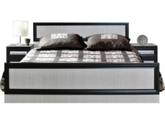 Кровать двойная Ника П 024.06 ЛДСП - Мебельная фабрика «Пинскдрев»