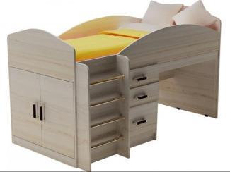 Кровать Алиса с выкатным столом - Мебельная фабрика «Премиум»