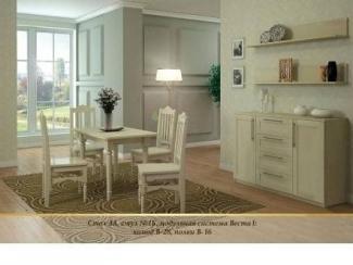 Обеденный комплект 11 - Мебельная фабрика «Верба-Мебель»