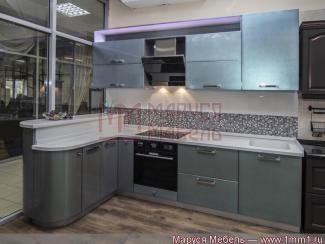 Кухня угловая Хамелеон эмаль - Мебельная фабрика «Маруся Мебель»