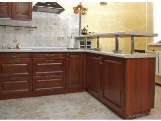 Кухонный гарнитур прямой Каштан