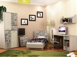 Vitamin 2 Набор мебели для детской - Мебельная фабрика «Вита-мебель», г. Йошкар-Ола