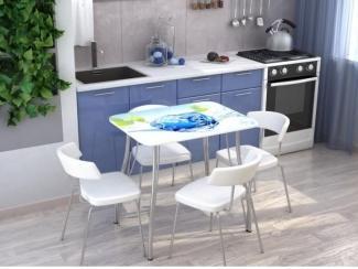 Стол с фотопечатью  Лёд  - Мебельная фабрика «Стендмебель»