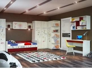 Детская модульная Актив 2 - Мебельная фабрика «Сканд-Мебель»
