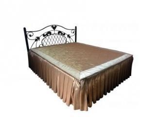 Кровать двойная металлическая Анжелика-1  - Мебельная фабрика «Металл конструкция»
