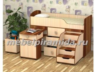 Кровать детская Фея - Мебельная фабрика «Пирамида», г. Краснодар