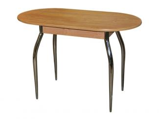 Стол обеденный овальный с ФХН - Мебельная фабрика «Виктория»