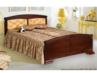 кровать Кристина 4 дерево - Мебельная фабрика «Боринское»