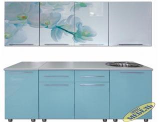 Кухня прямая 32 - Мебельная фабрика «Трио мебель»