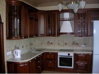Угловая классическая кухня - Мебельная фабрика «Три кита»