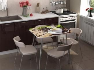 Стол с фотопечатью  Кофе - Мебельная фабрика «Стендмебель»
