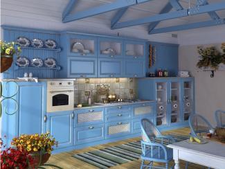 Кухня прямая Синди патина - Мебельная фабрика «Вариант М»