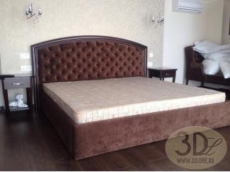 Мягкая кровать - Изготовление мебели на заказ «3dluxe»
