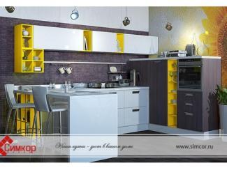 Кухня Акрилика - Мебельная фабрика «Симкор»