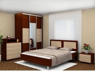 Спальный гарнитур в двух цветах - Мебельная фабрика «Нижнетагильская мебельная фабрика»