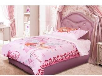 Розовая кровать Алиса  - Мебельная фабрика «Стрэк-тайм»