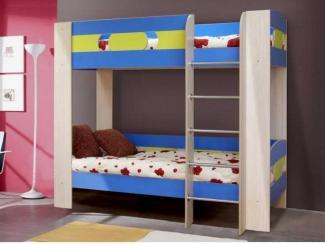 детская кровать 2х ярусная 6 - Мебельная фабрика «Элфис»