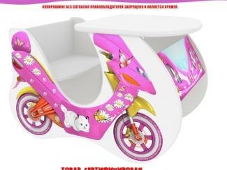 Стол детский Скутер розовый