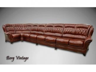 Винтажный диван Диана 7 - Мебельная фабрика «ТРИЭС»