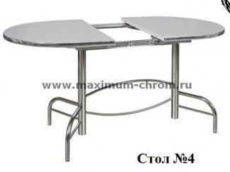 Стол обеденный 4 - Мебельная фабрика «Максимум-хром»